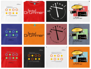 Designs Spreadshirt Boutique Spiritual Drummer