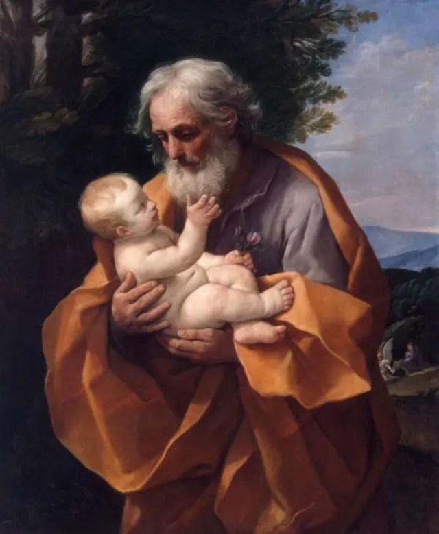 聖ヨセフと幼子イエズス