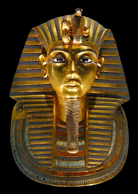 ツタンカーメンの黄金のマスク