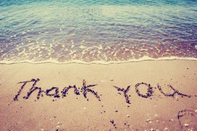 gratitude thankyou