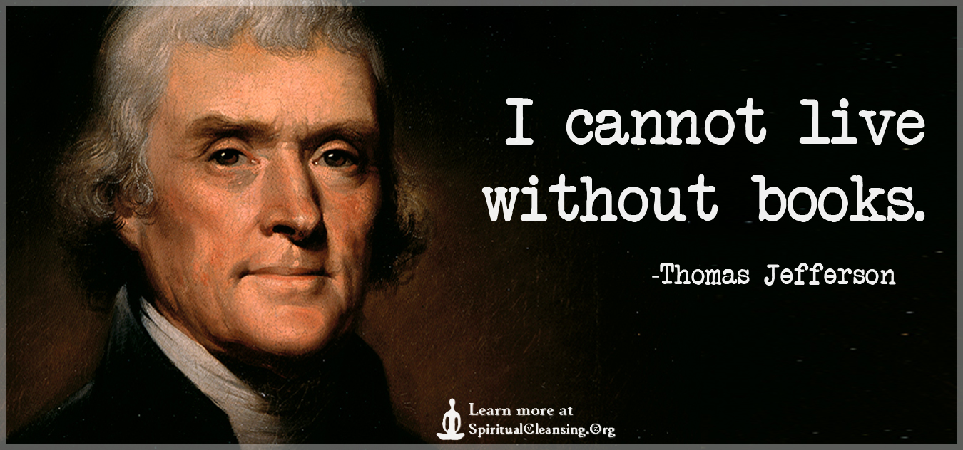 Image result for Thomas Jefferson quote books