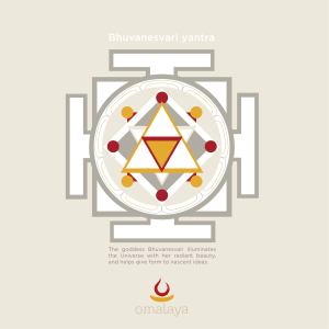 spiritual graphic design, graphisme spirituel, logo, spirituel, graphisme, bhuvanesvari yantra, mandala, universe, beauty, idea, interconnection, link