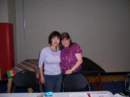 Yayoi and I at San Antonio College