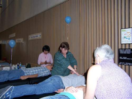 Performing Services at a Holistic Fair