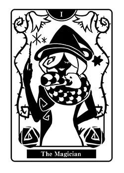魔術師の正位置