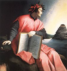 Dante, Portrait von Agnolo Bronzino