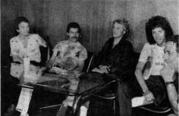 Queen 1981 in Argentinien