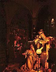 Joseph Wright: Alchemist