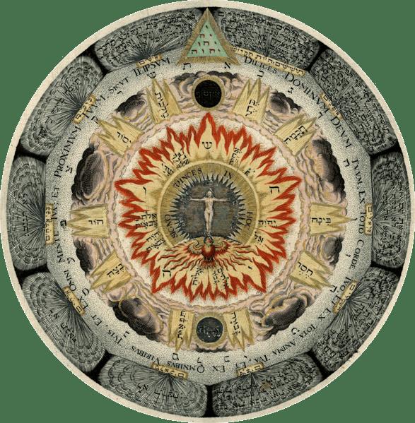 Kunrath: kosmische Rose
