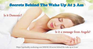 Secrets behind the wake up at 3 am