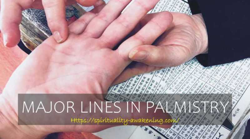 major lines in palmistry -- palm reading