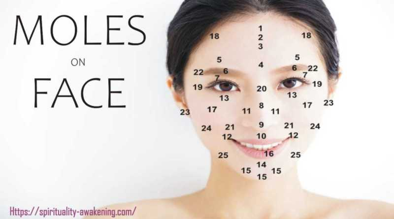 moles on face meaning