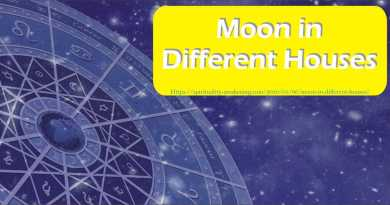moon in different houses