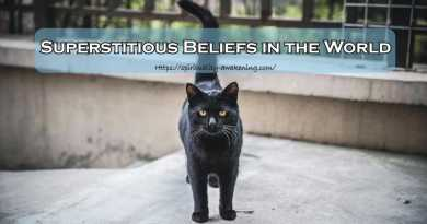superstitions beliefs in the world