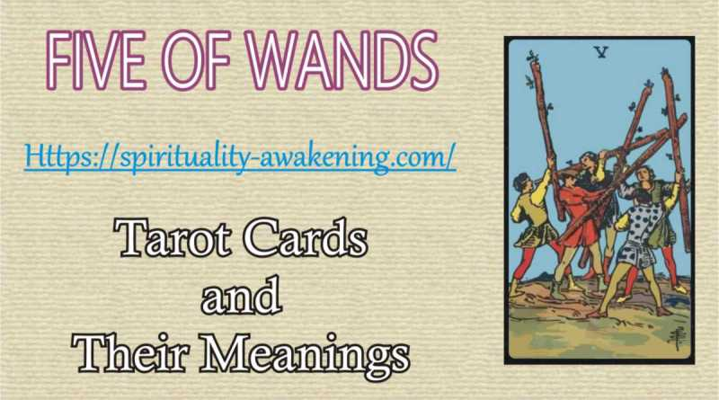 five of wands tarot card --- 5 of wands reversed