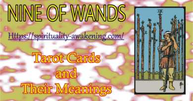 9 of wands tarot card -- nine of wands tarot card -- 9 of wands reversed