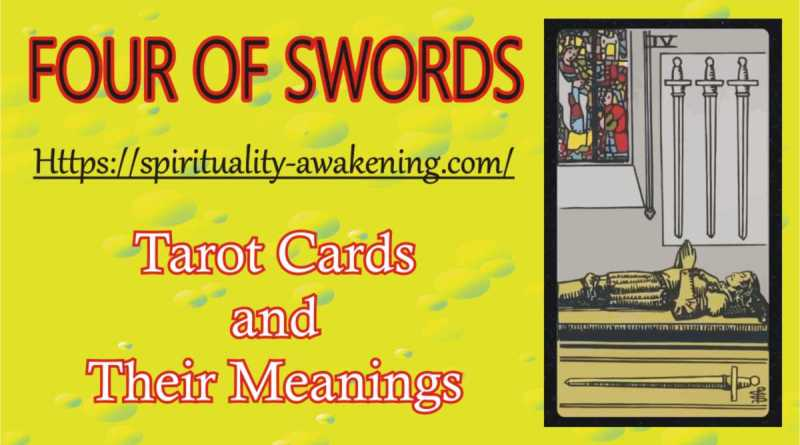 four of swords tarot card --- 4 of swords tarot card