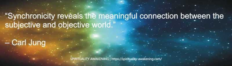 Synchronicities -- Synchronicity quotes