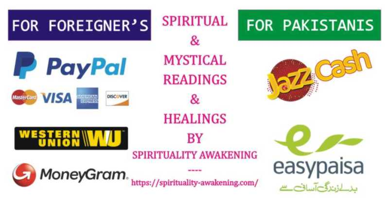 spiritual and mystical readings payment methods