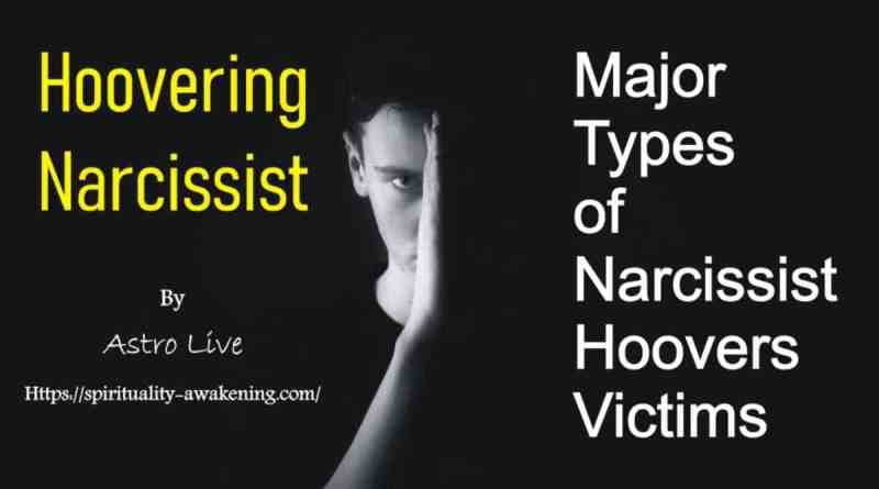 hoovering narcissist -- hoovering