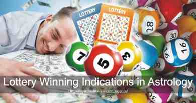 lottery winning indications in astrology