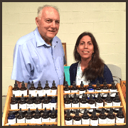 Clinton Peirce and Anita Robles - Clintons Healing Herbs - Austin Holistic Health and Wellness Fair