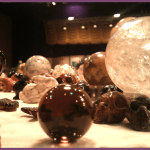 Austin Metaphysical Life Fair - Texas - Crystal balls and skulls