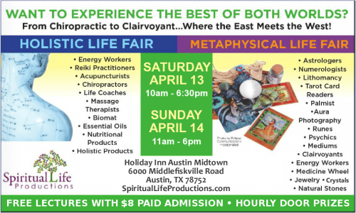 Austin Metaphysical and Holistic Life Expo - April 2019