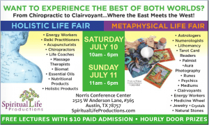 Austin Metaphysical and Holistic Life Expo - July 2021 updated
