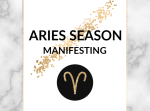 As we enter the season of Aries and a new astrological year, learn how you can use this energy to fire up your goals and multiply your motivation!