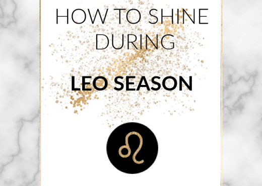 Leo season brings us a light-hearted, fun energy that focuses on relaxation and self-love. Find out how to embrace it in this post!