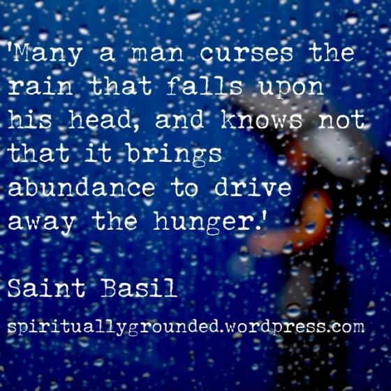 Saint Basil Quote