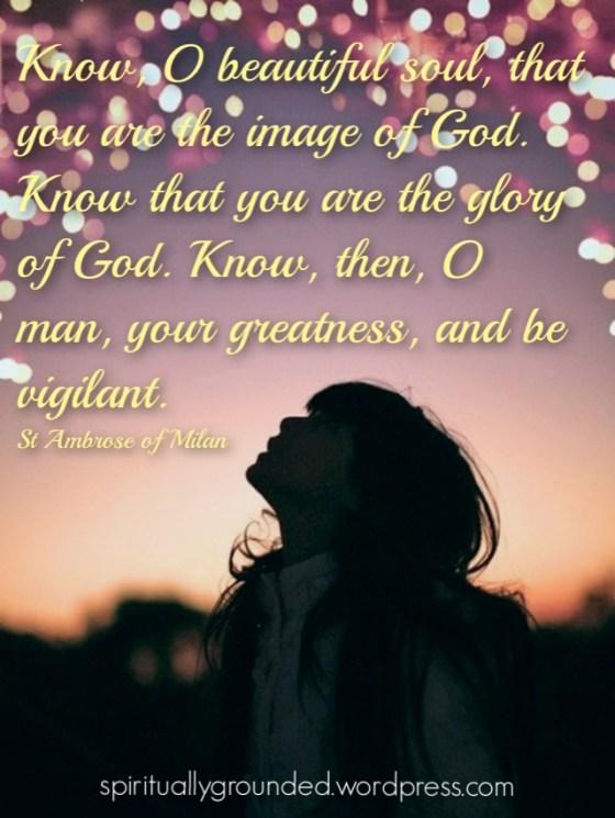 St Ambrose Quote