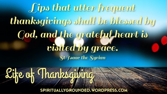 Thanksgiving St Isaac