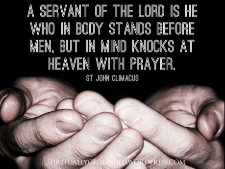 John Climacus-The Servant