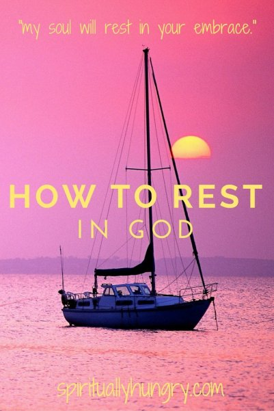 Finding God's Peace | Rest in God Alone | Jesus Restores