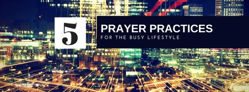 Want a better connection to God throughout your day, but can't ever seem to find the time? Relax, we got you covered. In this new free e-booklet, spirituallyhungry presents 5 simple prayer practices to help you grow closer to God in the midst of your busyness.