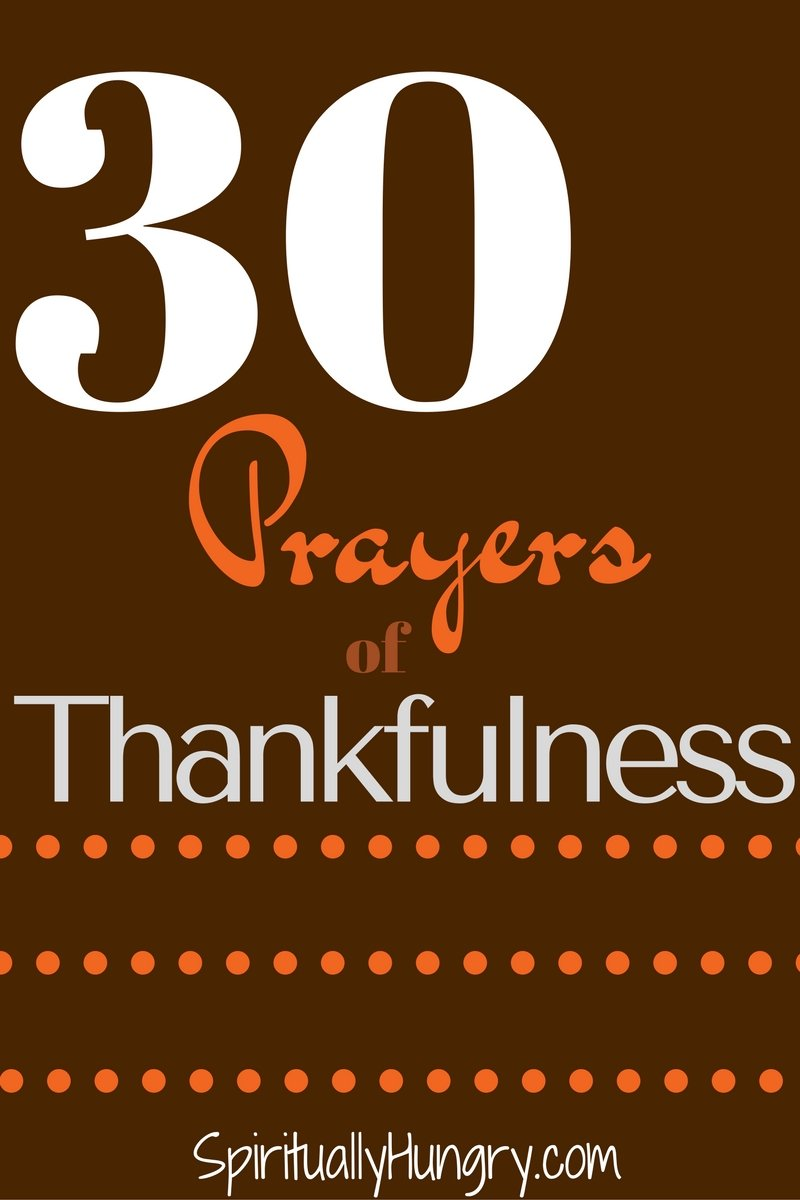 Hey, are you looking for some prayers that will help you pray to God in thanksgiving? If so, we have a great list for you. 30 quick and easy prayers you can help you become more thankful to God.
