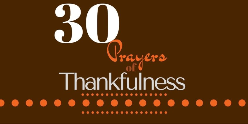 Grow closer to God by praying in a thankful lens