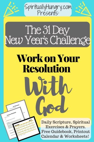 Resolve yourself to change with God in this Challenge!