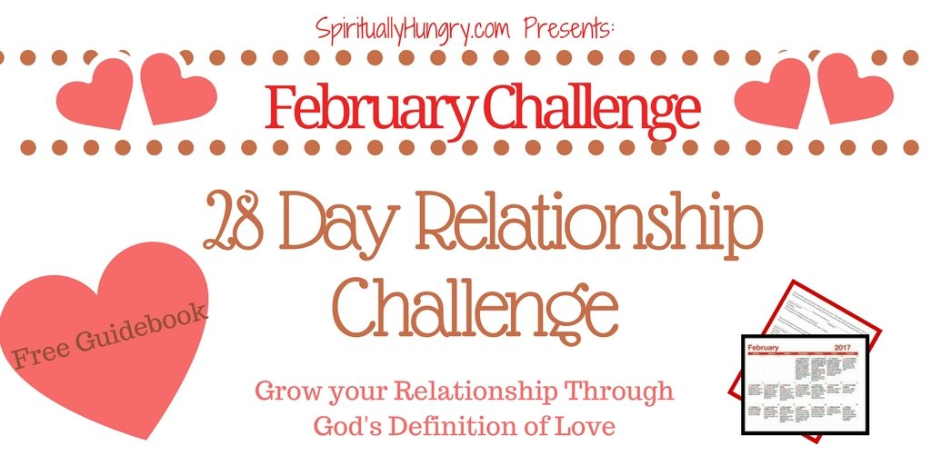 Come and challenge yourself to love better!