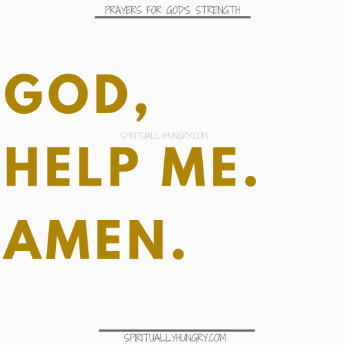 Prayer For Help From God | Prayers For Help From God