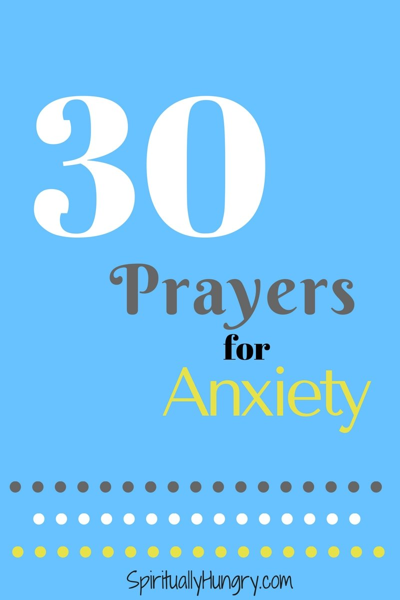 Worried and stressed? Overtaken with fear? Why not turn to God with prayer? In this post, we provide 30 quick prayers for you to be proactive about your anxiety!
