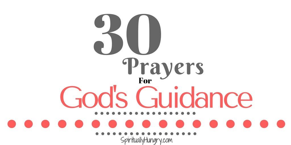 Prayer For Guidance | Prayers For Wisdom | Prayer For God's Will