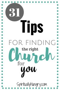 How To Find A Church | Tips For Visiting A Church