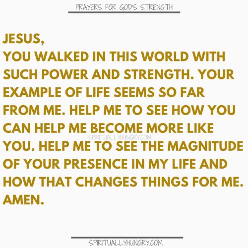 Prayers For Strength Of Christ | Prayer For Strength Of Christ