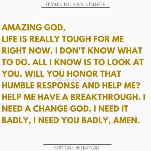 Prayers For Finding Gods Strength | Prayer For Finding Gods Strength