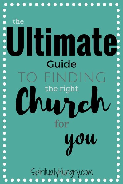 How To Find A Church   Tips For Visiting A Church