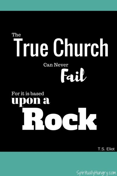 Christian Quotes | How To Find A Church | T.S. Eliot
