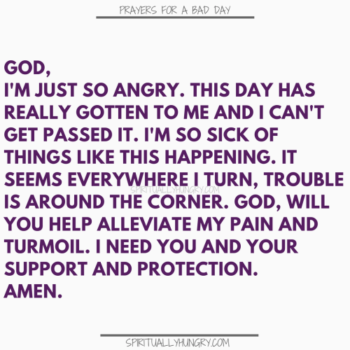 Prayers For A Really Bad Day | Prayer For A Really Bad Day